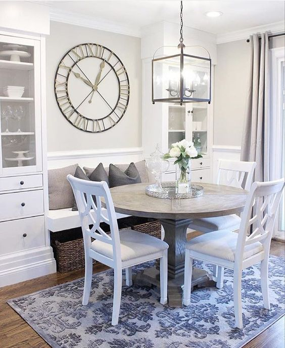 "Marshalls on Instagram: ""Bring spring inside! Brighten up a neutral breakfast nook with an unexpected pop of pattern and some fresh cut flowers. We love @jaclynmari_'s style!"""
