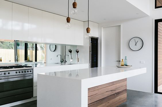 Materials In Kitchen:不同材質各有風格的 9 款廚房牆面素材提案, 6