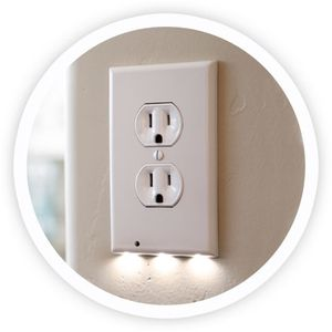 Outlet Covers with built in nightlight