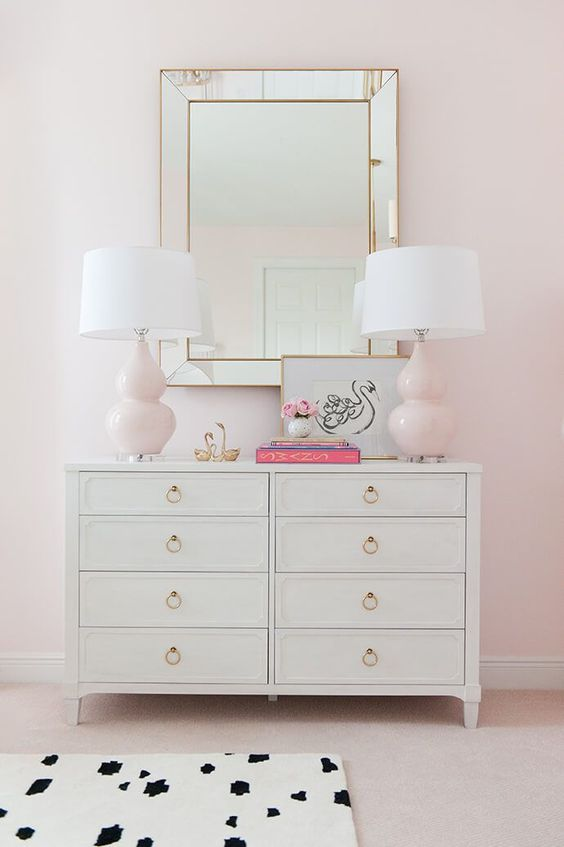 Pink & Leopard Bedroom