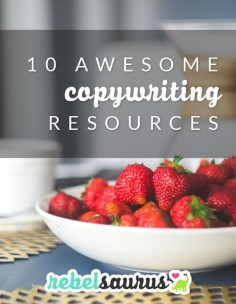 10 Awesome Copywriting Resources: Copywriting is an important skill to learn as an entrepreneur.  Here are some of my favorite copywriting blog posts and resources from around the web.