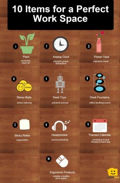 10 Desk Items to Create the Perfect Working Environment | CareerBliss