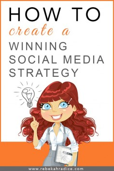 10 Steps to Creating a Winning Social Media Strategy. #socialmedia