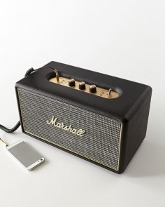 10 Unexpected, High-Tech Gifts For Him » Vintage-inspired Marshall Stanmore Speaker