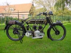 1922 Excelsior GB V, 770cc