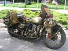 1941 Harley - Military Configuration. My brother has a bike just like this, that he did in tribute to our pepaw.