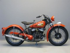 1941 Indian Scout Model 741B 500cc side valve