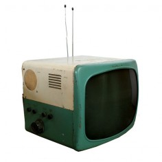 1950s Travler TV ( retro television set / vintage electronics )