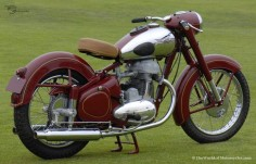1952 Jawa Model 15 500cc Twin Roadster Motorcycle