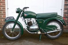 1960 Frances-Barnett Plover this one with the 149cc Single-Cylinder Two-Stroke Air-Cooled AMC Engine