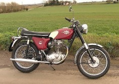 1967 BSA Shooting Star Roadster, 441cc, OHV single cylinder engine.