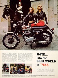 1968 Ad BSA Thunderbolt Motorcycle British Import 654cc Engine Sportbike YCD6 - Period Paper