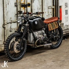 1971 BMW R71 Scrambler by Ironwood Custom Motorcycles.