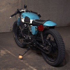 1973 Honda CL350 vintage custom build bike