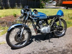 1974 Honda CB125S bored to 150cc with powroll 11:1 piston, powroll cam, big carb and nitrous!