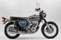 1974 Honda CB750/four (below), the four-pipe K-series.