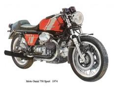 1974 Moto Guzzi 750 Sport