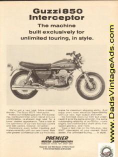 1974 Moto Guzzi 850-T Interceptor - Unlimited Touring In Style