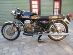 1974 Moto Guzzi V7 Sport L Side