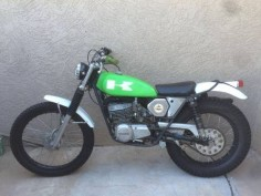 1975 Kawasaki KT250 Trials Bike