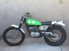 1975 Kawasaki KT250 Trials Bike