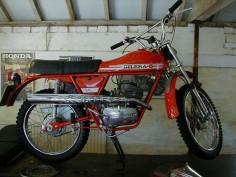 1976 Gilera 50 Trail moped.