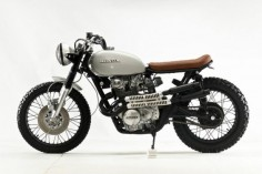 1976 HONDA CB450 'DIRTY JERSEY' ~ STEEL BENT CUSTOMS ~ BIKEBOUND