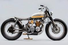 1976 HONDA CB550F ~ RECAST MOTO ~ PIPEBURN