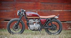 1977 HONDA CB550 - SMYTH INNOVATIONS - BIKER METRIC