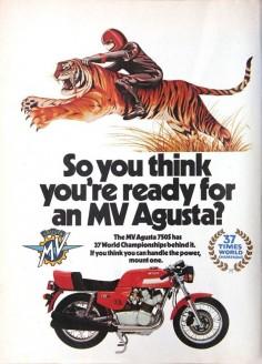 1977 MV Agusta 750S