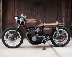 1978 Honda CB750 Espresso Cafe Racer
