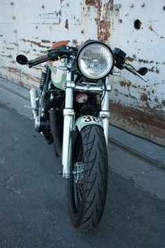 1978 Suzuki GS550 Cafe Racer by Mark fuller 4