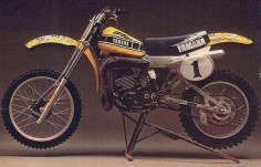 "1979 Yamaha OW Works Bike as ridden by Bob ""Hurricane"" Hannah"