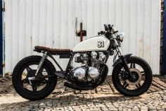 1981 Honda CB750 Brat - featured on Retro Write Up