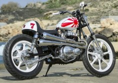 1981 KAWASAKI KZ440 ~ CHOPPERSHACK ~ ROCKETGARAGE