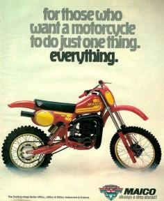 1981 Maico 490 ad