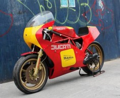 1982 Ducati TT2 Race bike 600cc -