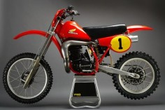 1982 Honda Works Bike