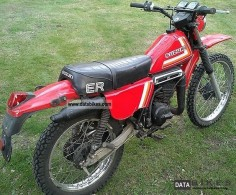 1982 Suzuki ER 125 Motorcycle Enduro/Touring Enduro photo