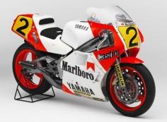 1986 Eddie Lawson Yamaha YZR500(0W81)