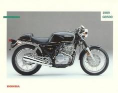 1989 Honda GB500