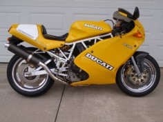 1993 Ducati 900 Superlight-Purchased in 1995- I still have it.