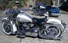 1994 Harley Davidson Heritage Softail Retro Motorbike