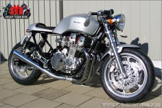 1995 HONDA CB750 F2 Restyled the Swedish way