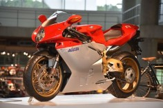 1998 MV Agusta F4 Serie Oro, considered by many to be one of the most beautiful motorcycles ever produced