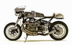 2000 MOTO GUZZI V11 - SANTIAGO CHOPPERS - INAZUMA CAFE RACER  PHOTO - ERICK RUNYON
