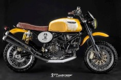 2003 DUCATI MONSTER 1000 SCRAMBLER - TAKY GARAGE - ROCKETGARAGE