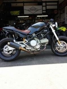 2005 Ducati Monster 620 Shop Bike