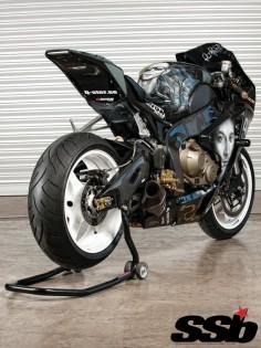 2008 Honda CBR1000RR.