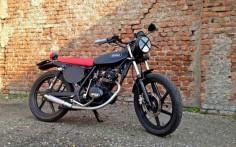 2008 SYM XS125 - ANIBA MOTORCYCLES - INAZUMA CAFE RACER
